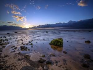 Postal: El final del día en Kaanapali, Maui, Hawái