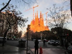 La Sagrada Familia, en Barcelona (España)
