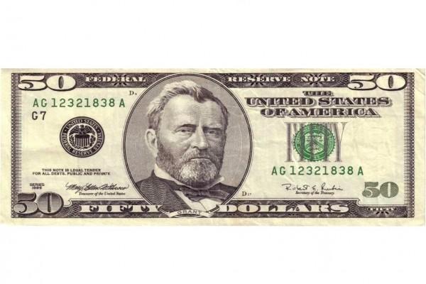 50 dólares estadounidenses