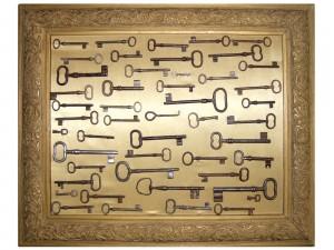 Colección de llaves antiguas