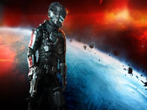 Traje N7 de Mass Effect en Dead Space 3