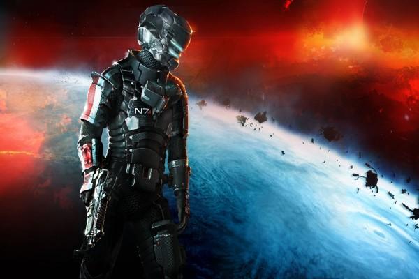 Traje N7 de Mass Effect en Dead Space 3