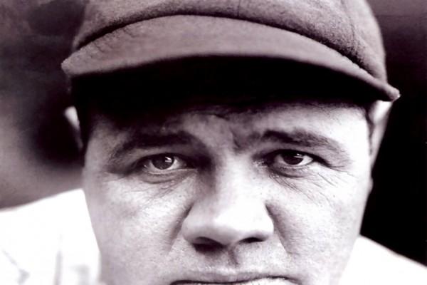 """Babe Ruth, apodado """"el Bambino"""" y """"el Sultán del golpe violento"""""""