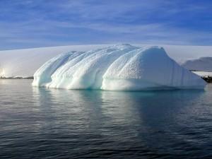 Postal: Hielos en la Antártida