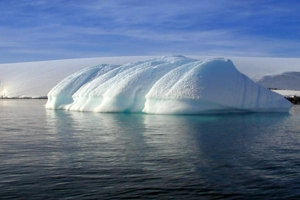 Hielos en la Antártida