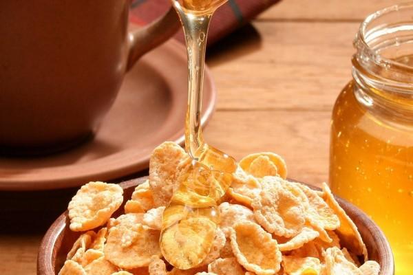Miel y cereales