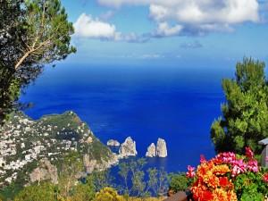 Postal: Isla de Capri, Nápoles, Italia