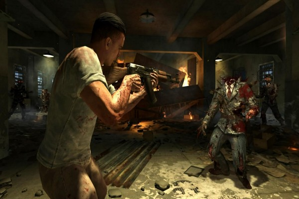 "Decapitando zombis en ""Mob of the dead"" (Call of Duty, Black Ops 2)"