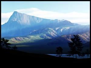 Montaña de pura roca