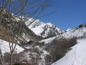 Postal: Parque nacional Vanoise, Alpes franceses