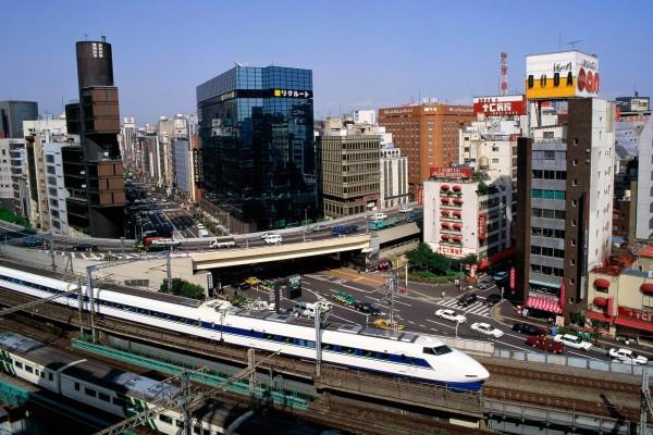 Tren Bala, Tokio, Japón
