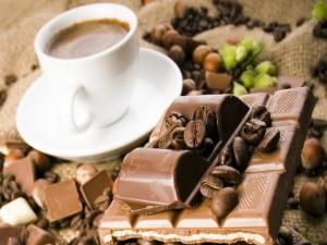 Postal: Café y chocolate