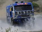 Camión en el Rally Dakar de 2013