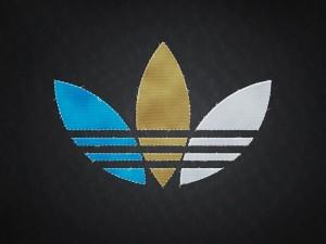 Postal: Logo de Adidas