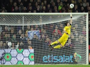 Iker Casillas en la portería