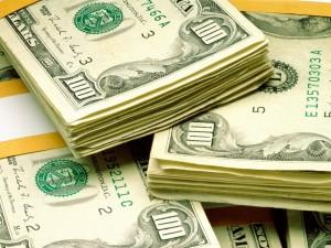 Postal: Fajos de billetes de 100 dólares americanos