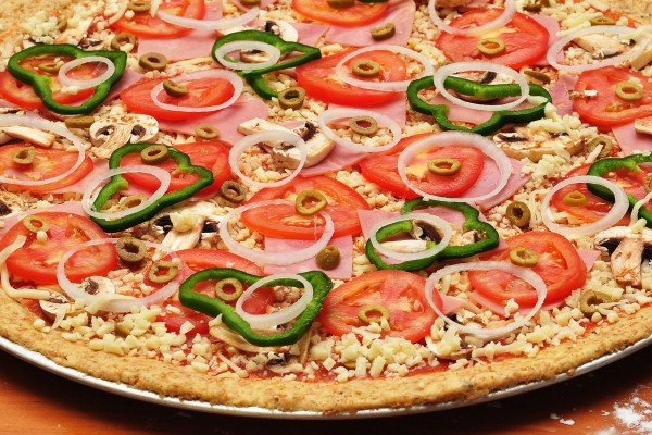 Pizza lista para hornear