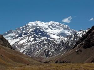 Postal: El cerro Aconcagua (Argentina)