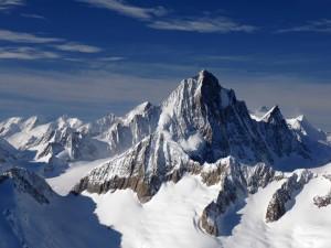 Vista de los Alpes berneses (Suiza)