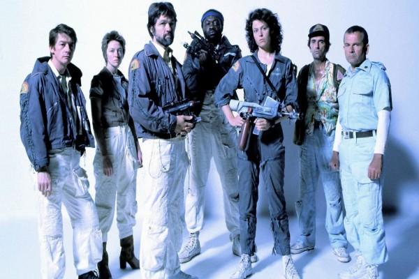 """Protagonistas de """"Alien, el octavo pasajero"""" (1979)"""