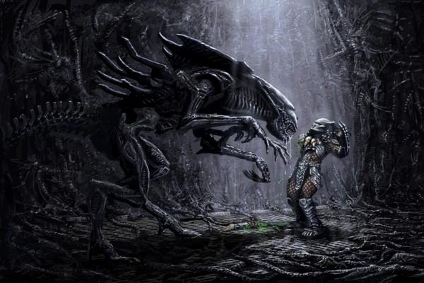 Alien y Depredador frente a frente