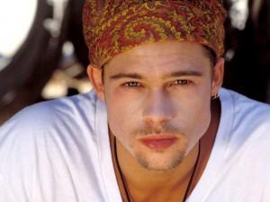 Un joven Brad Pitt