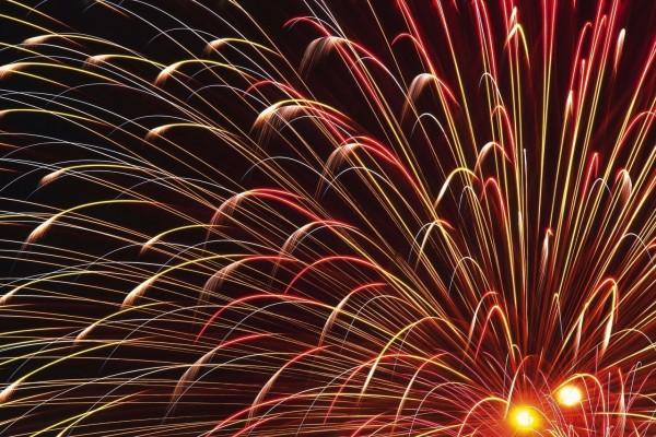 Noche de fuegos artificiales