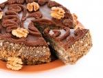 Torta de chocolate y nueces