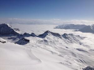 Postal: Los Alpes Peninos