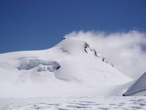 Signalkuppe (Punta Gnifetti) en los Alpes Peninos