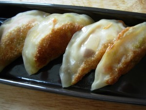 Postal: Gyoza (empanadilla china)