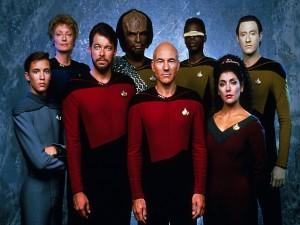 Postal: Star Trek: La nueva generación