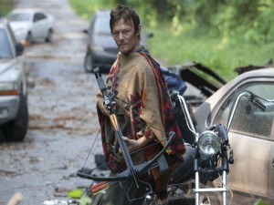 El actor Norman Reedus en su papel de Daryl (The Walking Dead)