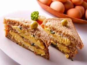 Sandwich de tortilla francesa