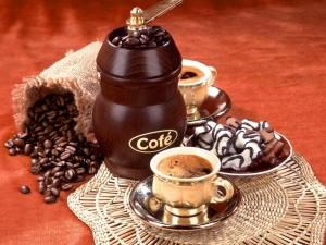 Postal: Es la hora del café