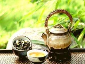 Postal: Un auténtico té verde