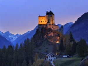 Castillo de Tarasp, Suiza