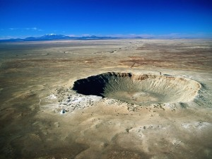 Postal: Cráter Barringer, Arizona, Estados Unidos