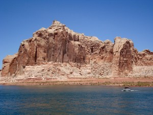Postal: Lago Powell (Powell Lake), Arizona, USA