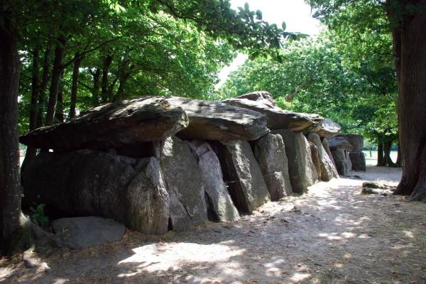 La Roche-aux-fées (La roca de las hadas), Francia