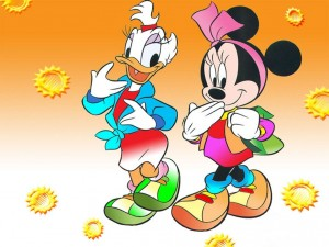 Daisy y Minnie