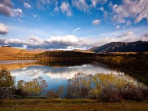 Postal: Lago Hayes (Nueva Zelanda)