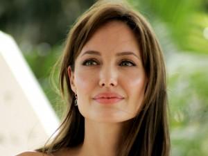 Postal: La actriz estadounidense Angelina Jolie