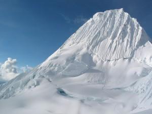 Alpamayo, Cordillera Blanca (Andes, Perú)