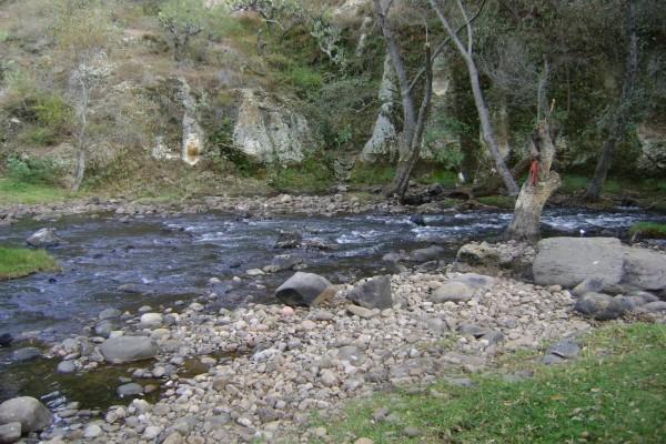 Río pedregoso