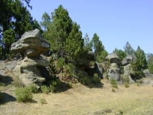 El Valle de Piedras Encimadas, en Puebla, México