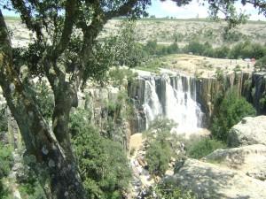 Cascadas en Aculco, México