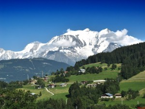 El Mont Blanc o Monte Bianco