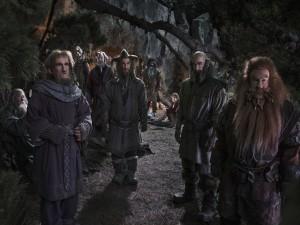 """Postal: Personajes de """"El hobbit: un viaje inesperado"""""""