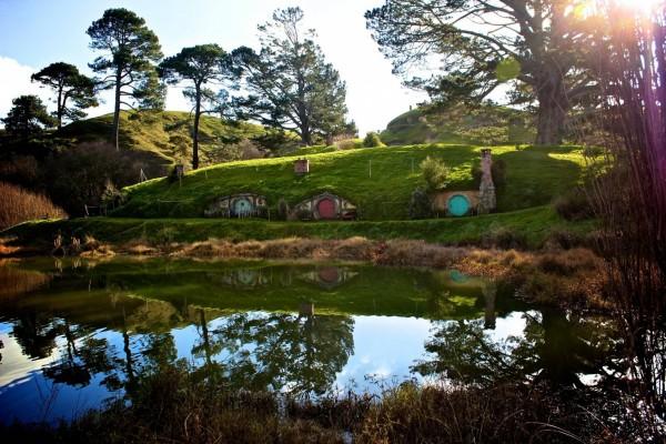 La Comarca, donde viven los hobbits